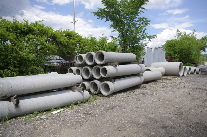 concrete pipe RCP