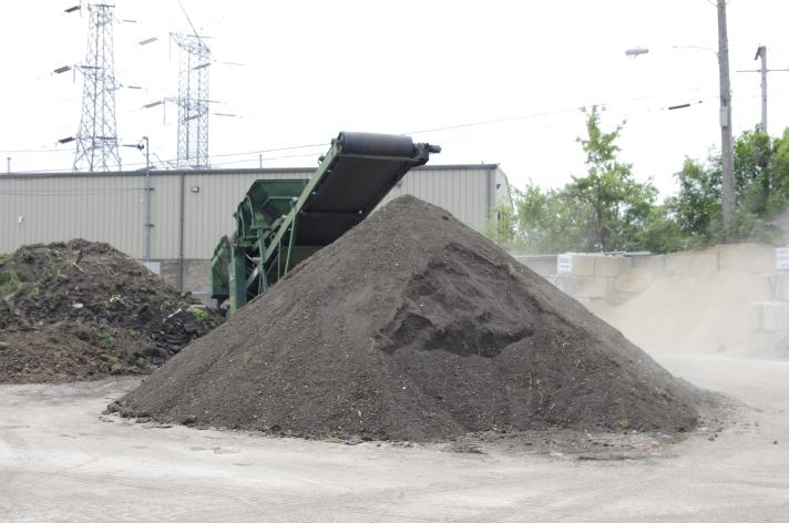 re screened top soil